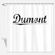 Dumont, Vintage Shower Curtain