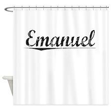 Emanuel, Vintage Shower Curtain