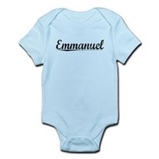 Emmanuel, Vintage Infant Bodysuit