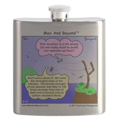 Stainless Steel Flask (6 Ounces)