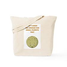 Sad Pluto Tote Bag
