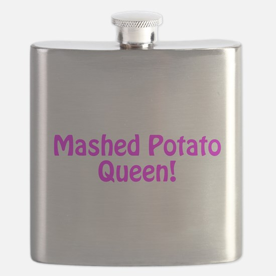 Mashed Potato Queen Flask