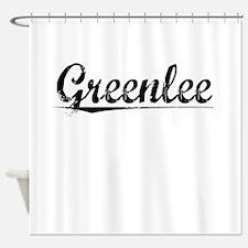 Greenlee, Vintage Shower Curtain