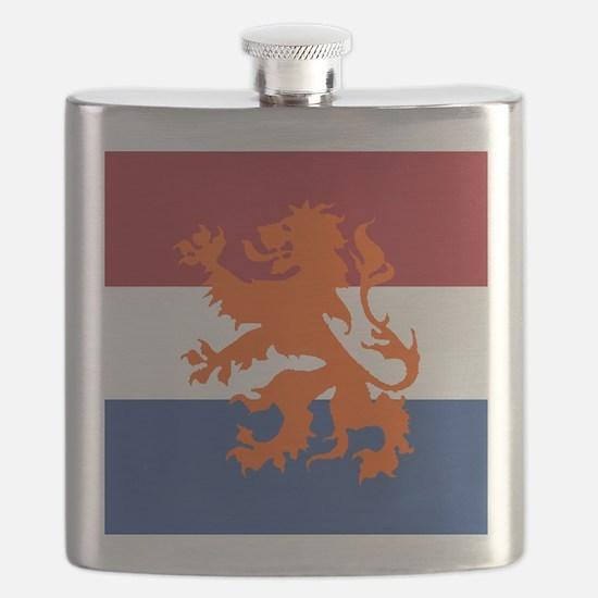 Holland Lion Flask