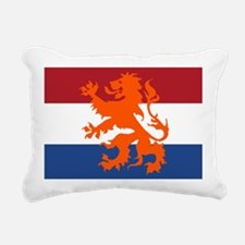 Holland Lion Rectangular Canvas Pillow