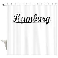 Hamburg, Vintage Shower Curtain