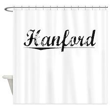 Hanford, Vintage Shower Curtain