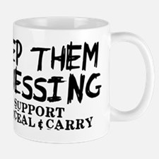 Keep Them Guessing - Support Conceal & Carry Mug