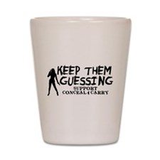 Keep Them Guessing - Support Conceal & Carry Shot