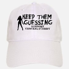 Keep Them Guessing - Support Conceal & Carry Baseball Baseball Cap