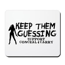 Keep Them Guessing - Support Conceal & Carry Mouse