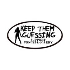 Keep Them Guessing - Support Conceal & Carry Patch