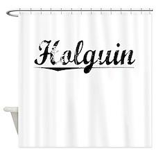 Holguin, Vintage Shower Curtain