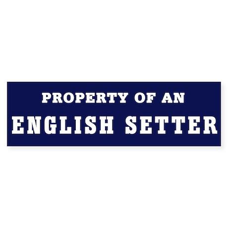 Property of an ES bumper Sticker