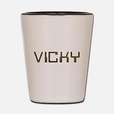 Vicky Circuit Shot Glass