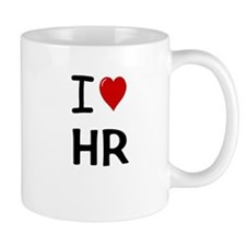 I Love HR Human Resources Mug