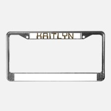 Kaitlyn Circuit License Plate Frame