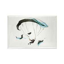 Paraglider Rectangle Magnet