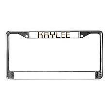 Kaylee Circuit License Plate Frame