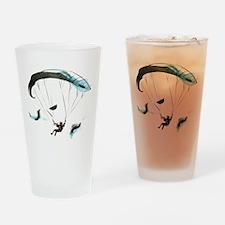 Paraglider Drinking Glass