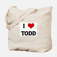 I Love TODD Tote Bag