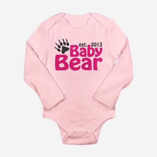 Baby Bear Claw Est 2013 Onesie Romper Suit
