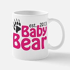 Baby Bear Claw Est 2013 Mug