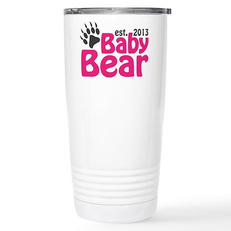 Baby Bear Claw Est 2013 Stainless Steel Travel Mug