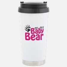 Baby Bear Claw Est 2013 Stainless Steel Travel Mug