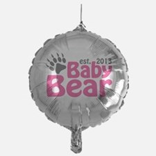 Baby Bear Claw Est 2013 Balloon