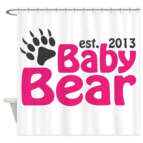 Baby Bear Claw Est 2013 Shower Curtain