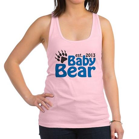 Baby Bear Claw Est 2013 Racerback Tank Top
