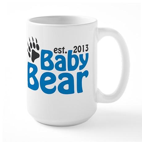 Baby Bear Claw Est 2013 Large Mug