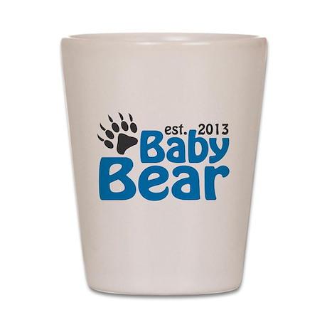 Baby Bear Claw Est 2013 Shot Glass