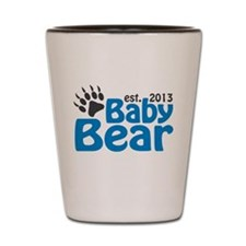 Baby Bear Claw Est 2013 Shot Glass