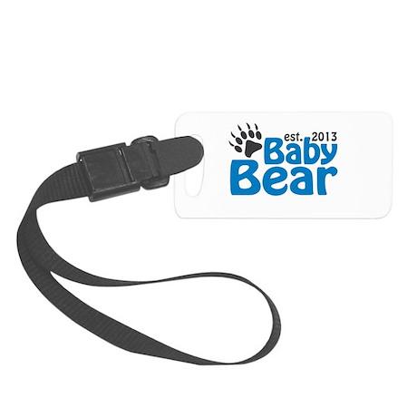 Baby Bear Claw Est 2013 Small Luggage Tag