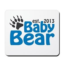 Baby Bear Claw Est 2013 Mousepad