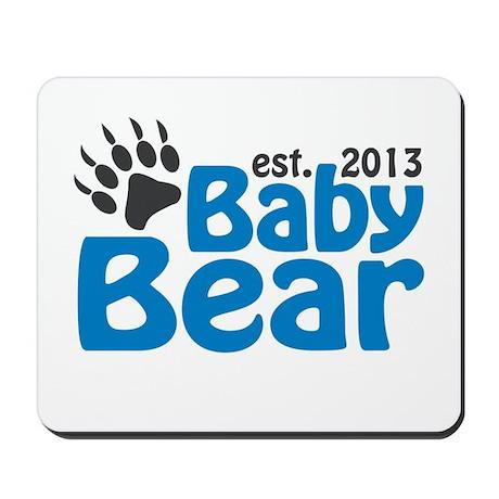 Baby Bear Claw Est 2013 Mousepad