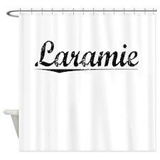 Laramie, Vintage Shower Curtain
