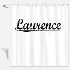 Laurence, Vintage Shower Curtain