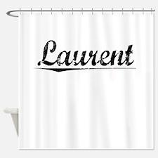 Laurent, Vintage Shower Curtain