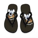 St bernard Flip Flops