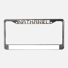 Nathaniel Circuit License Plate Frame