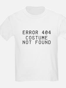 Computer Error No Costume Kids T-Shirt
