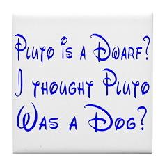Dwarf or Dog? Tile Coaster