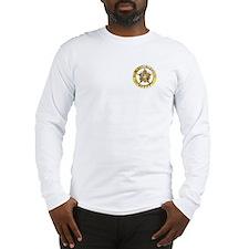 Gold Bail Enforcement Badge Long Sleeve T-Shirt