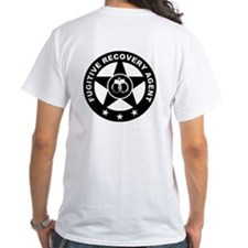 Fugitive Recovery Agent Logo on Shirt