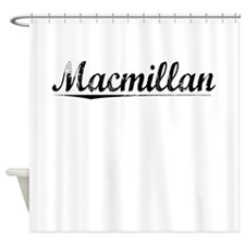 Macmillan, Vintage Shower Curtain