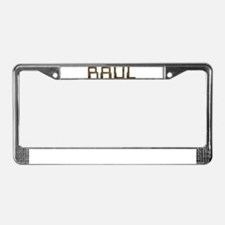 Raul Circuit License Plate Frame