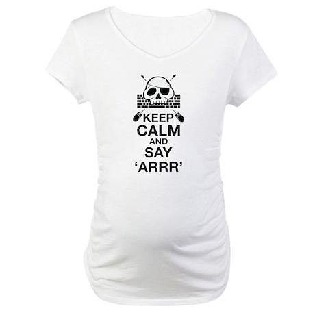 Say arr Maternity T-Shirt
